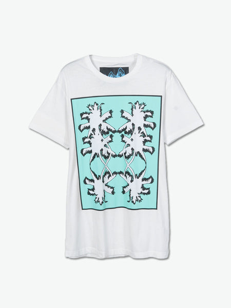 Boxed-In Coconuts T-Shirt (White) - daretodreamhk