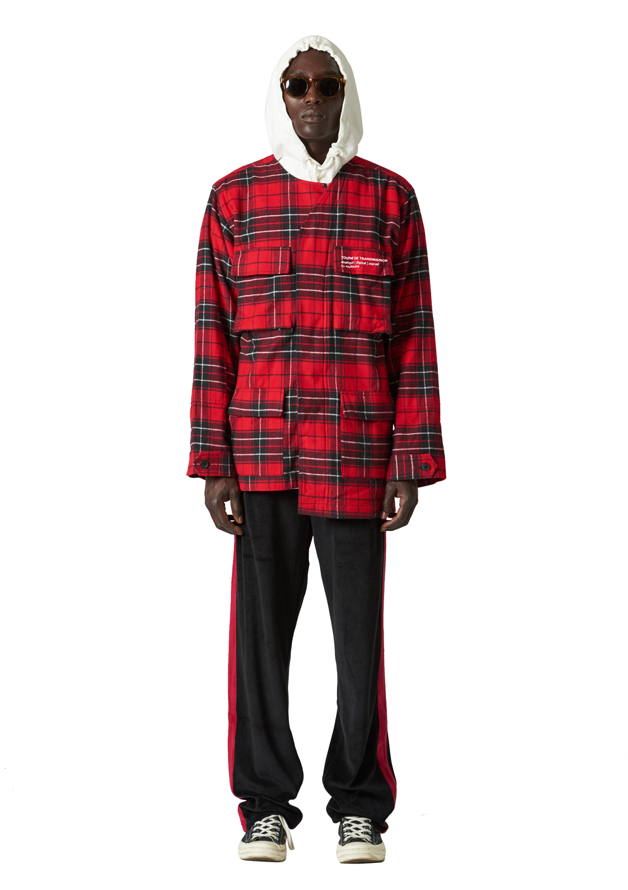 AMDO Red Plaid SHIRT