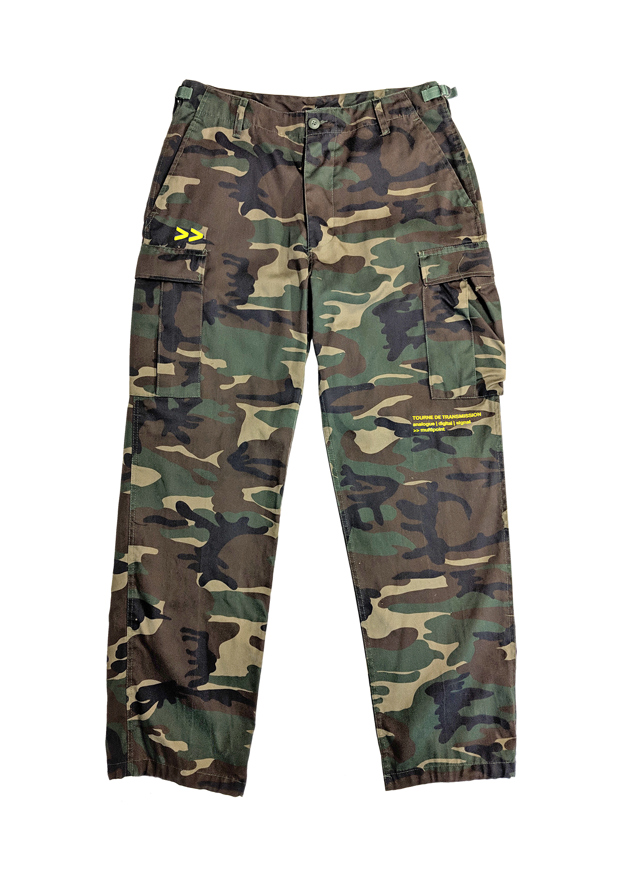 """Roots"" Pant - Yellow"