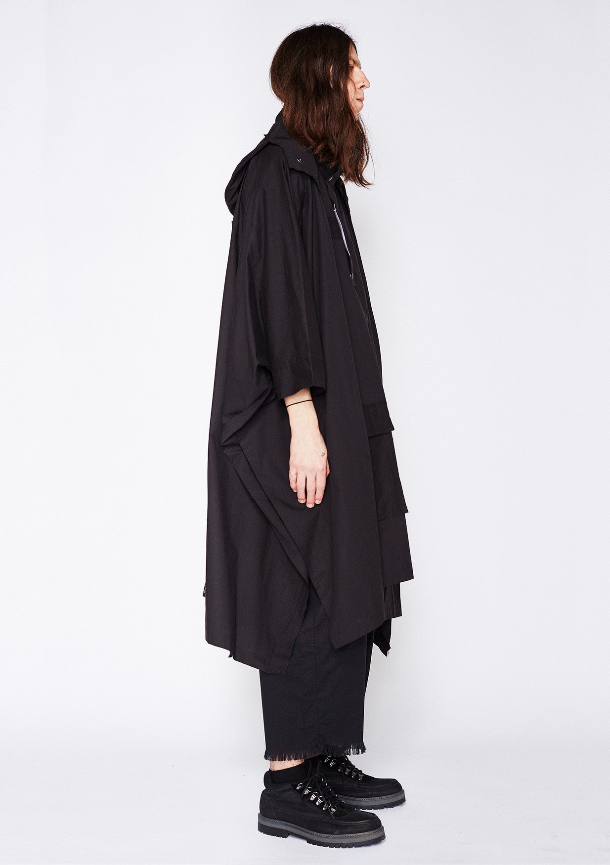 ESCAPE TAILORED PONCHO