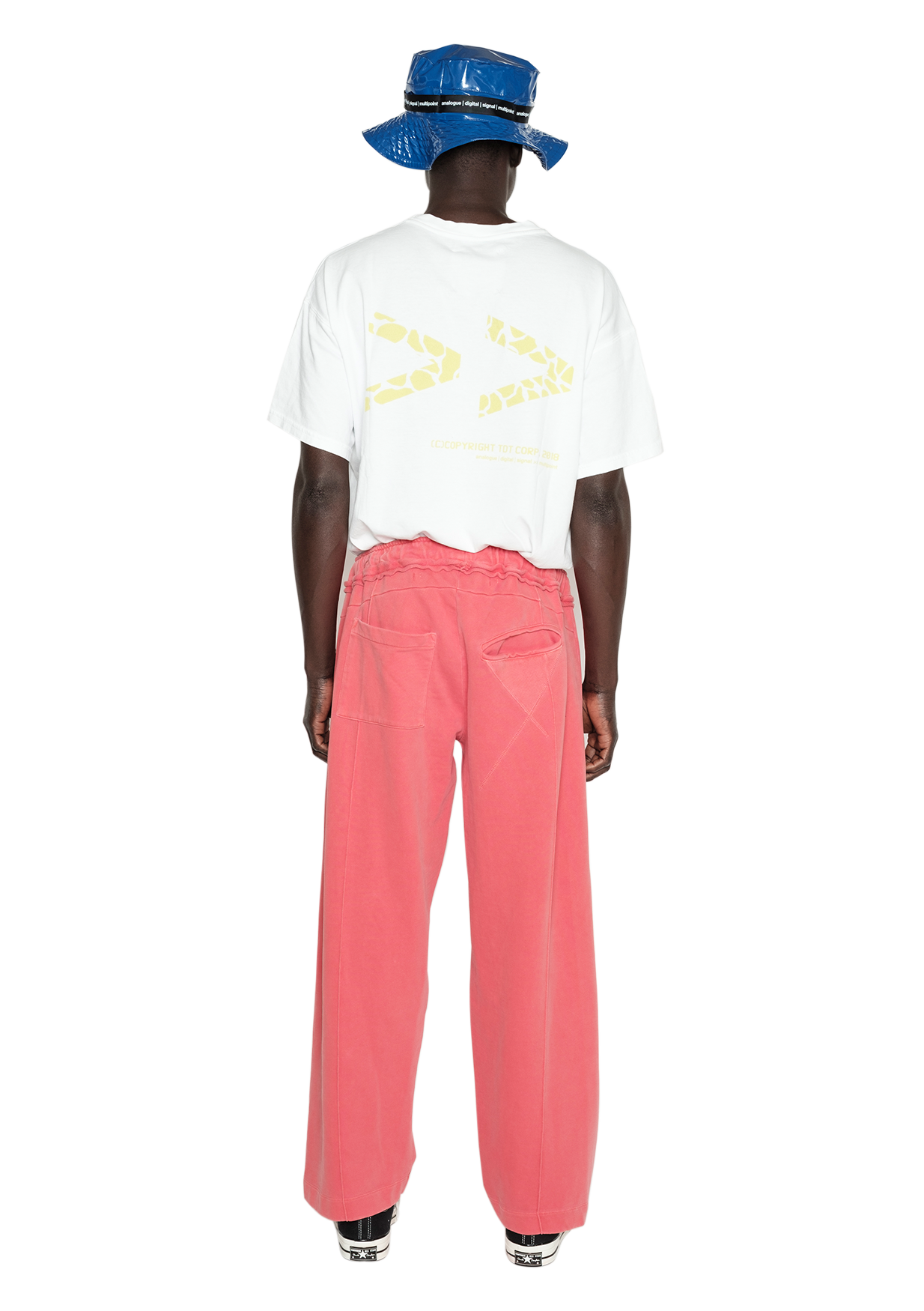 REFERENCE OG BAGGY SWEAT PANT CORAL