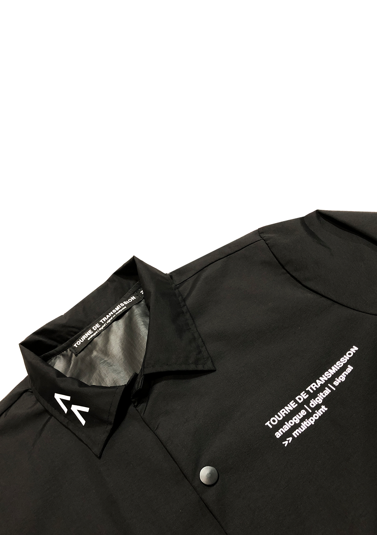 Multipoint Coach jacket - Black / White
