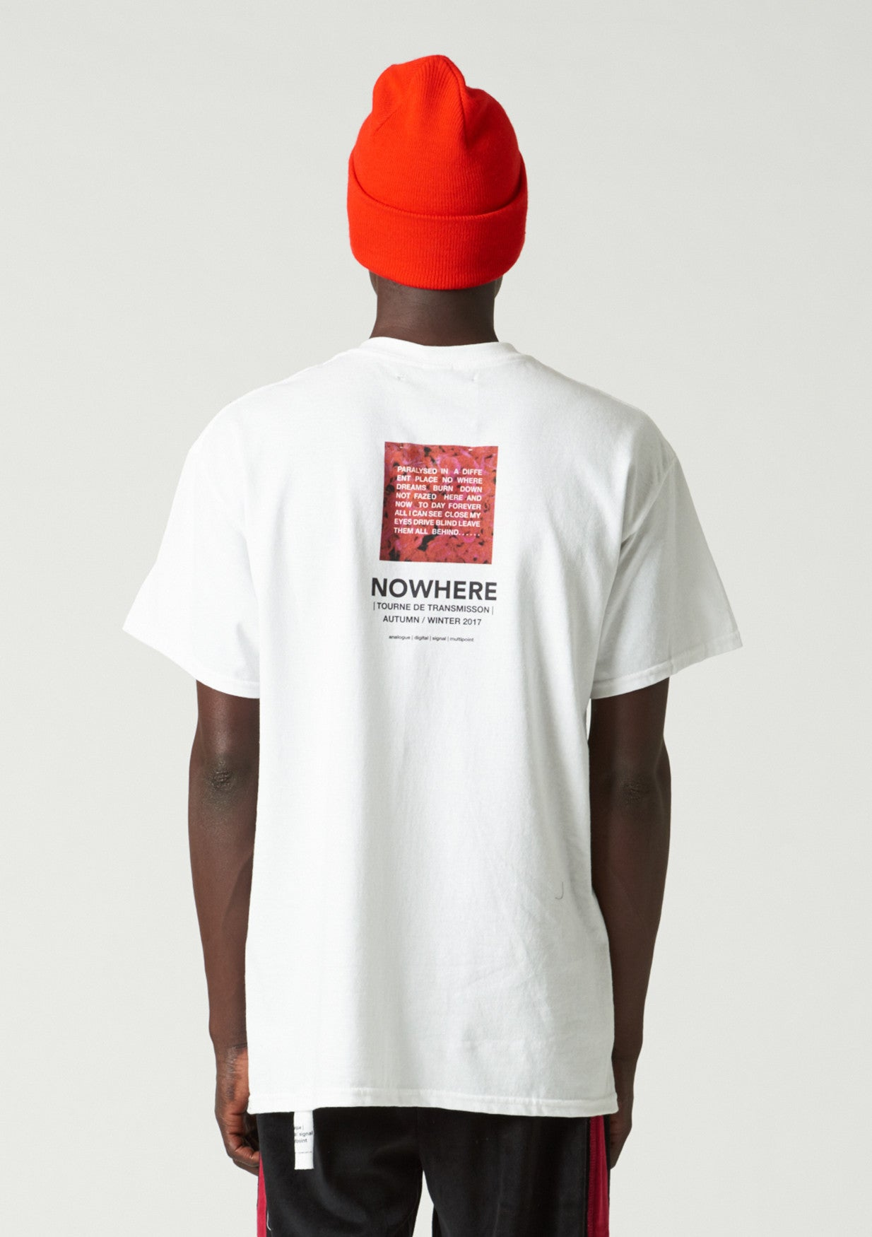 Nowhere T Shirt - red - only 1 size S left