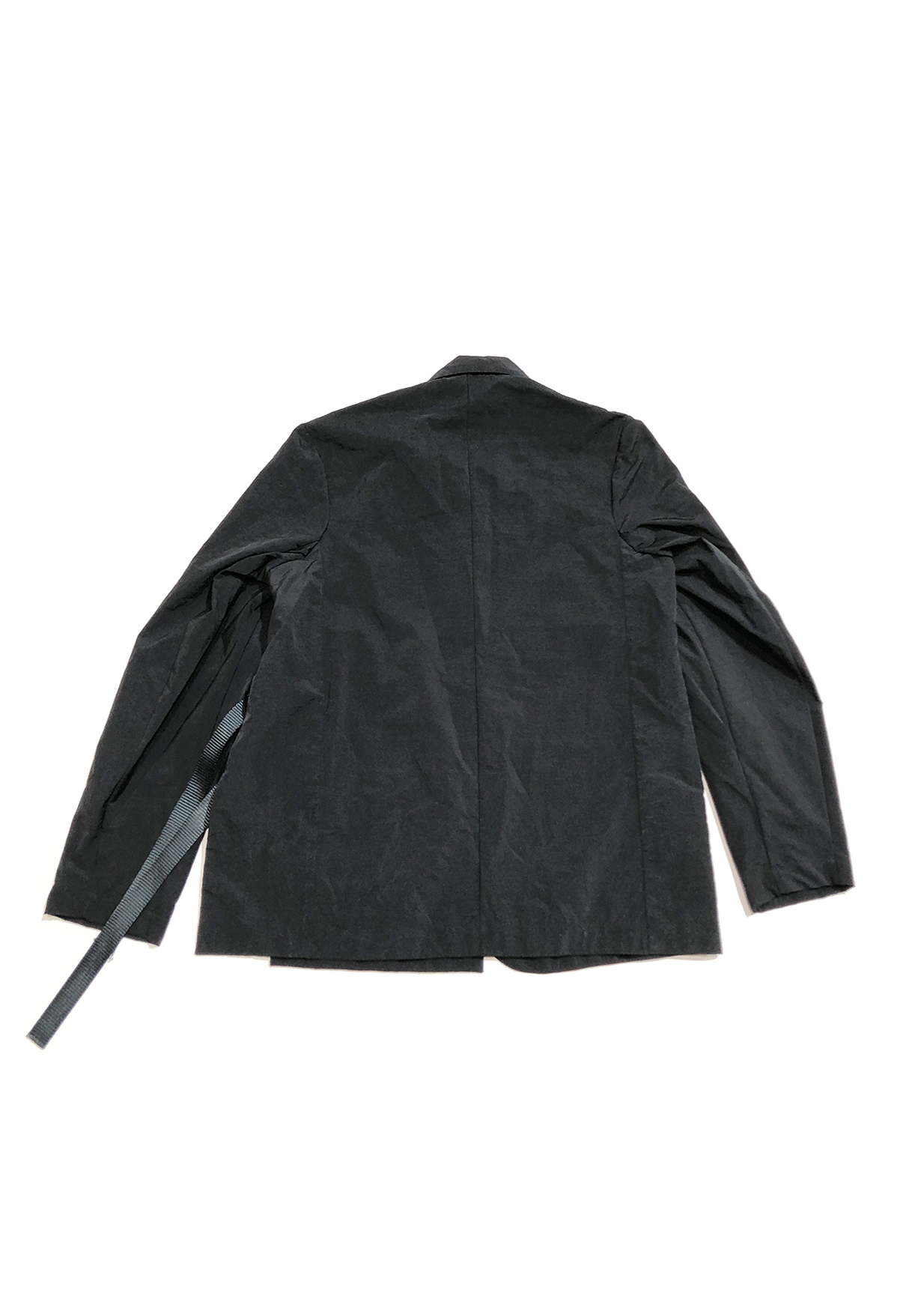 RUIN TAILORED JACKET - BLACK