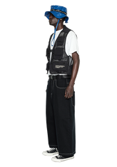 Multipoint Tactical Vest - black / White