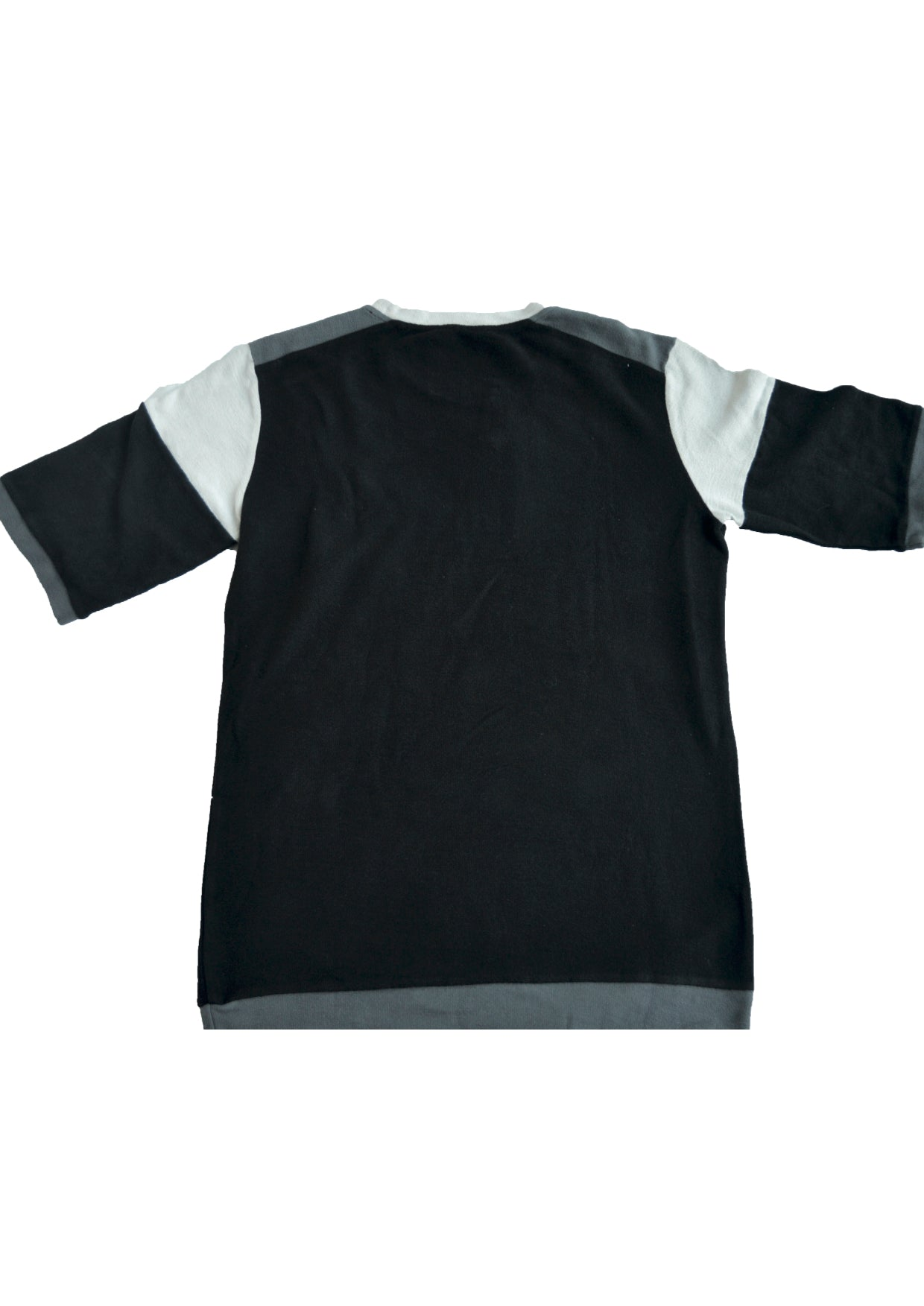 SS15 tee - black/white/grey
