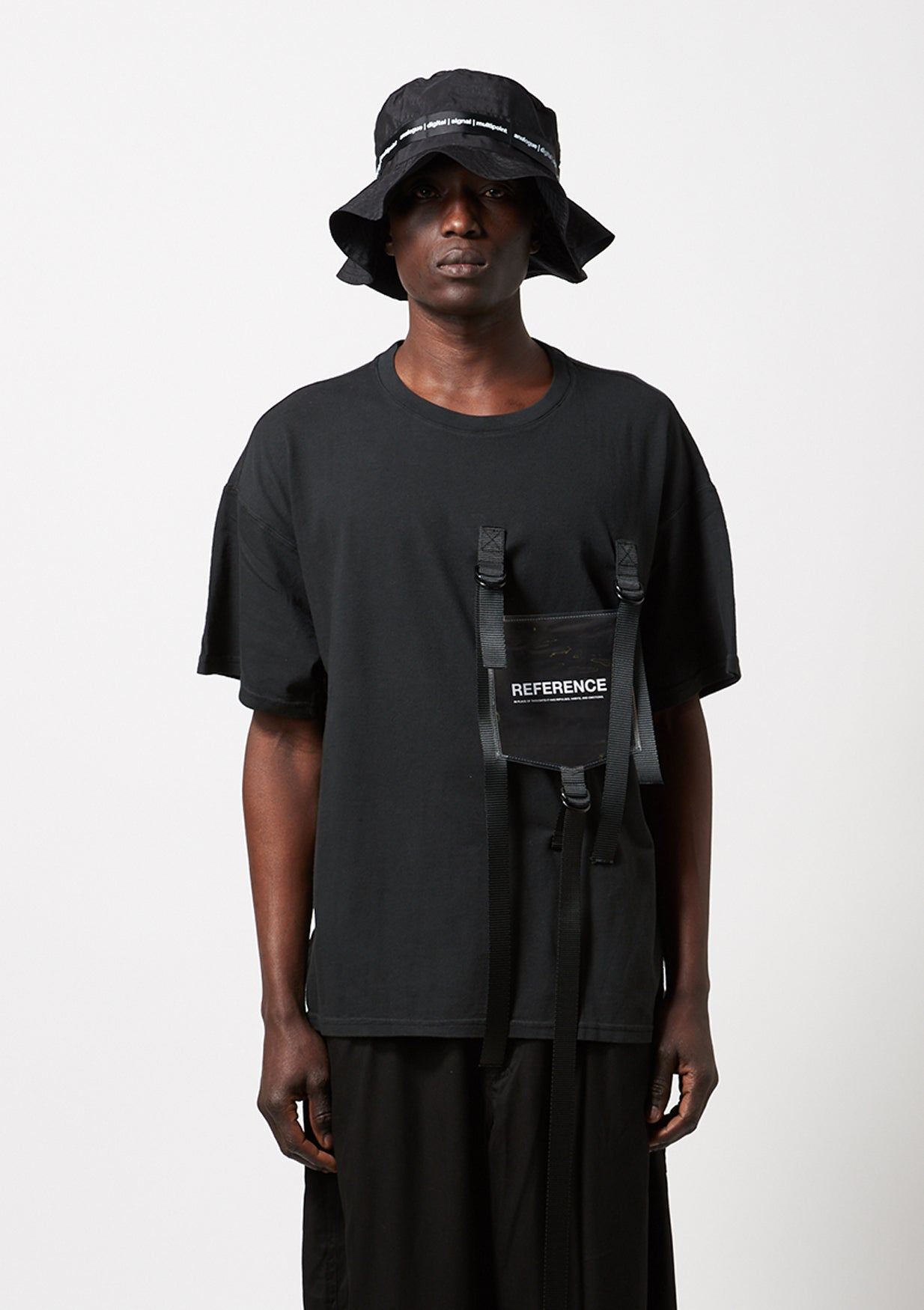 Reference - Strap Bind T-shirt