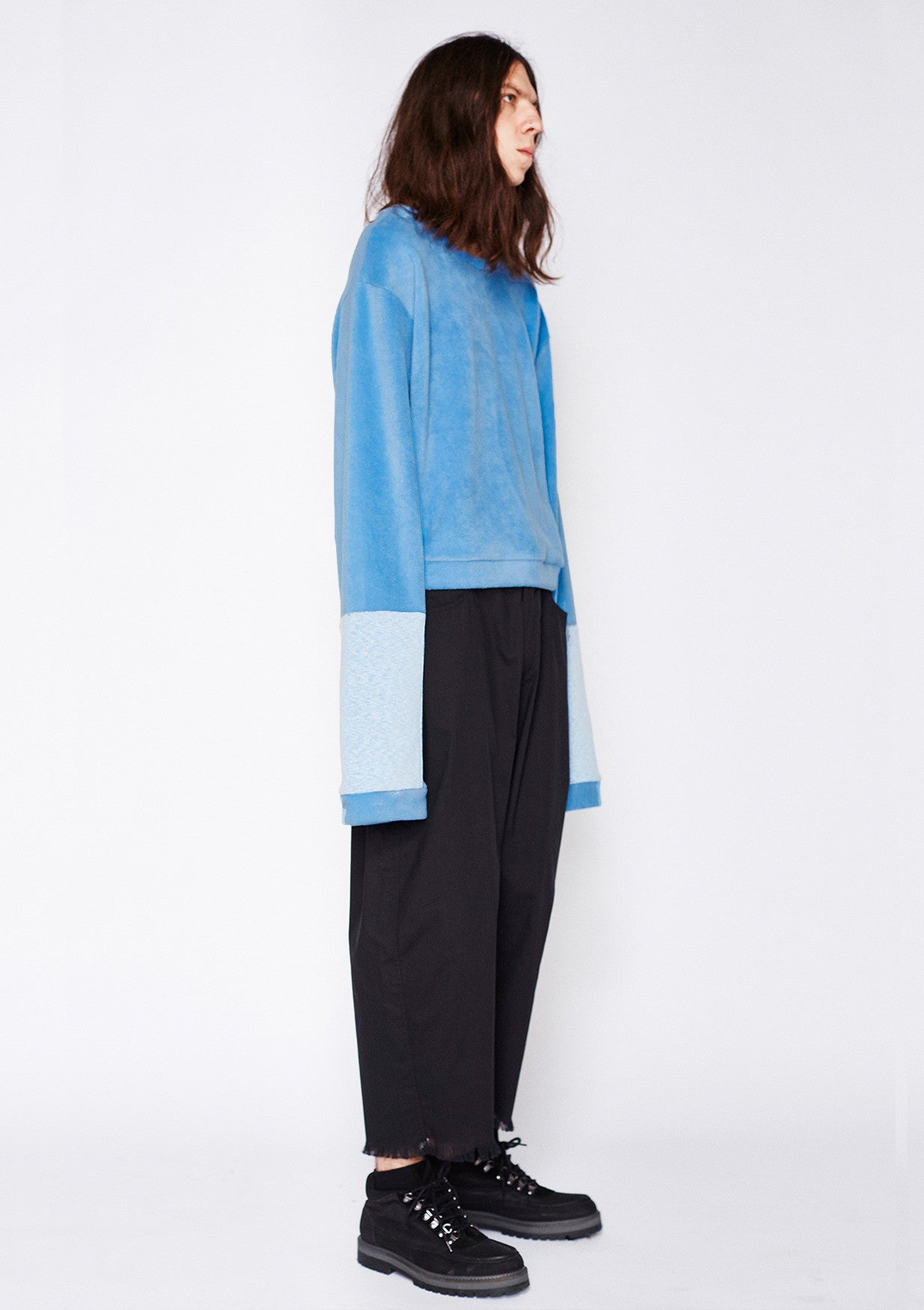 CROPPED TAI FLEECE SWEAT