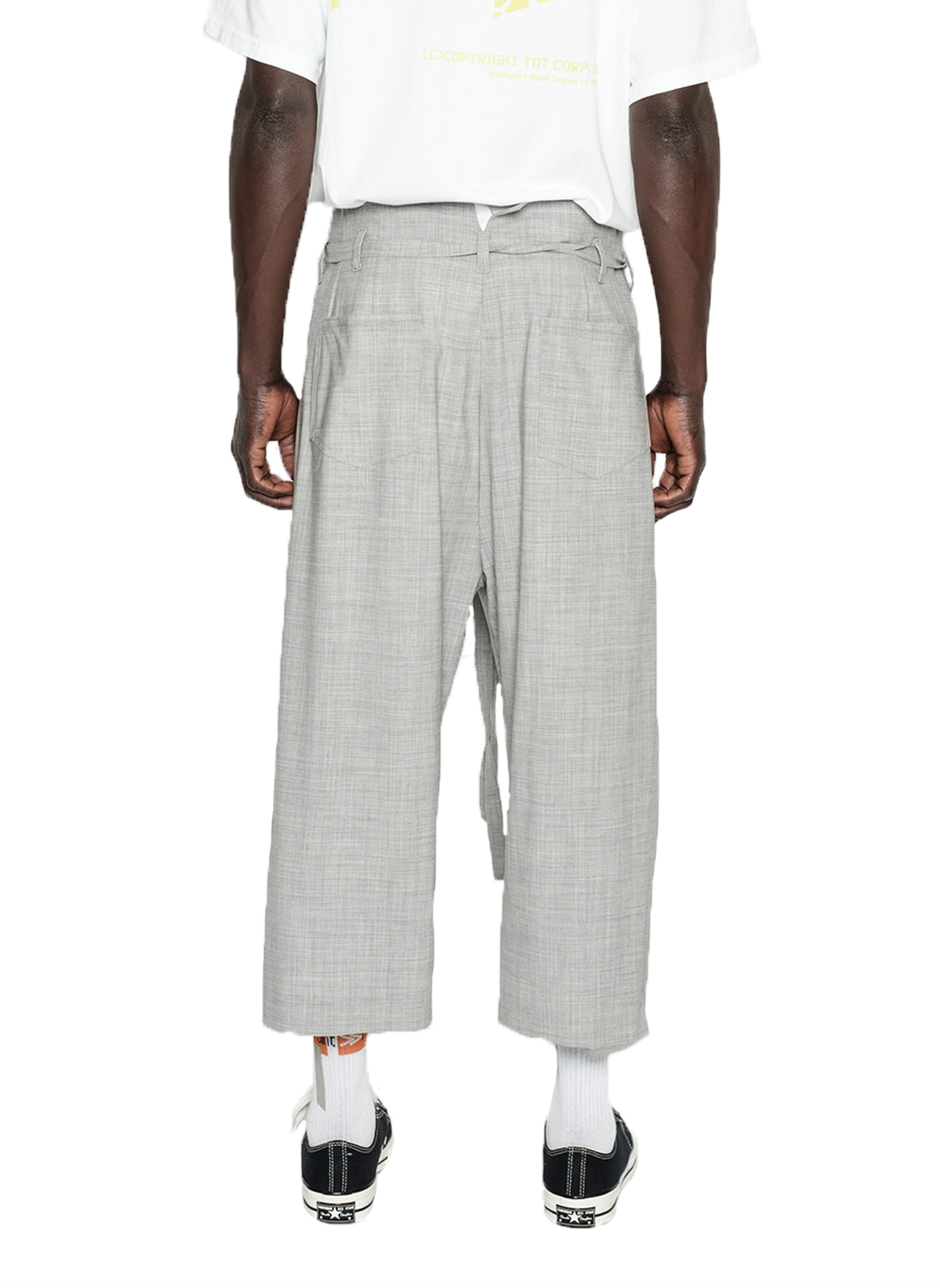 DOCTRINE PANT - GREY MELANGE