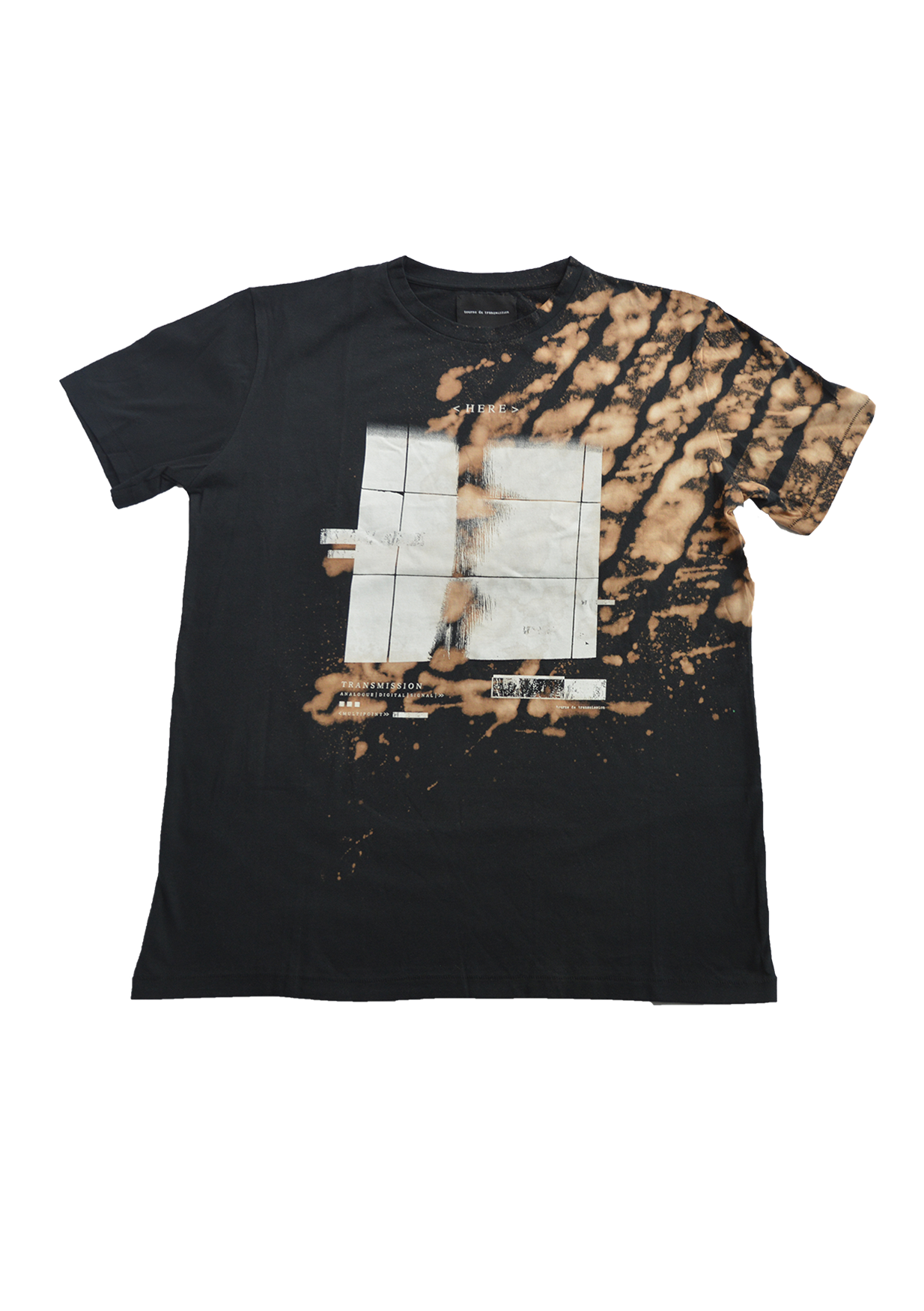 SS15 'Here soulage' tee - black