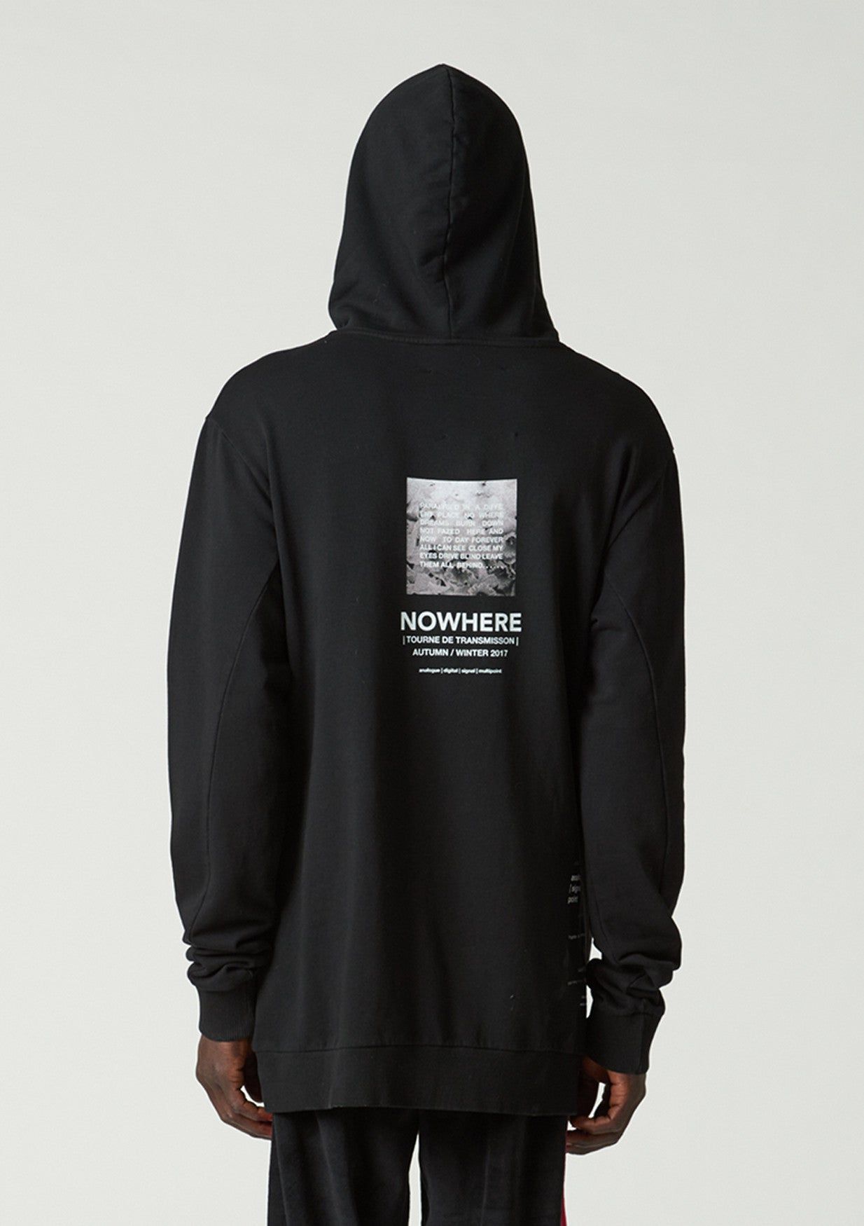 Nowhere Hood - grey - only L left