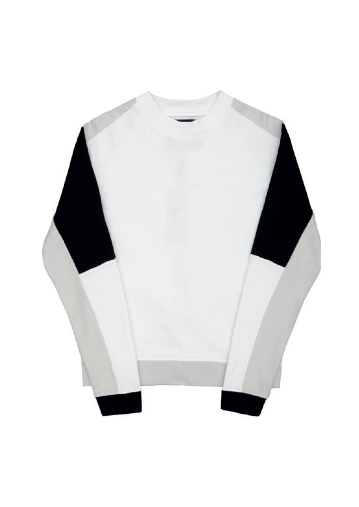 SS15 sweat - white/grey/black