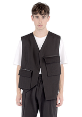 LOUIS Pleat pocket waist coat