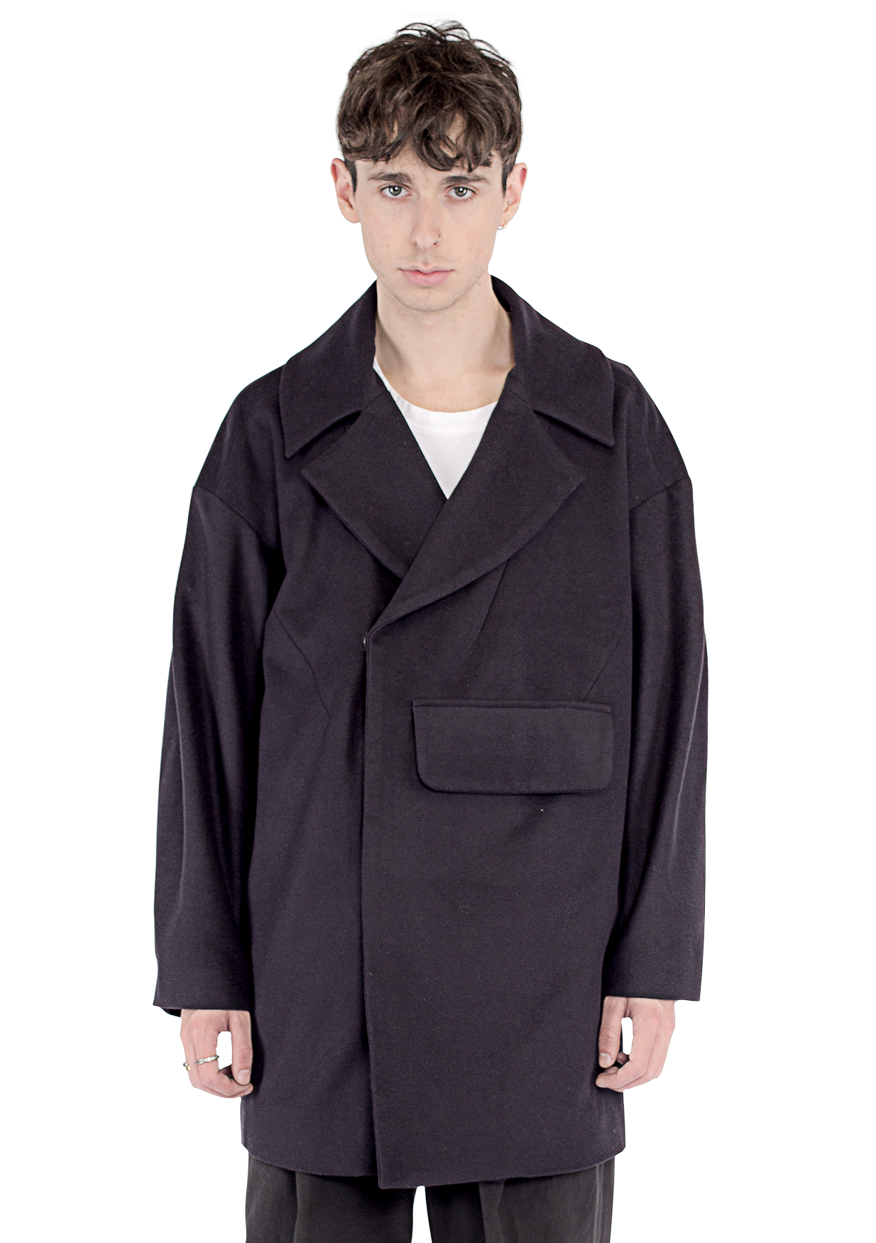 PORTA - OVERSIZED PEA COAT