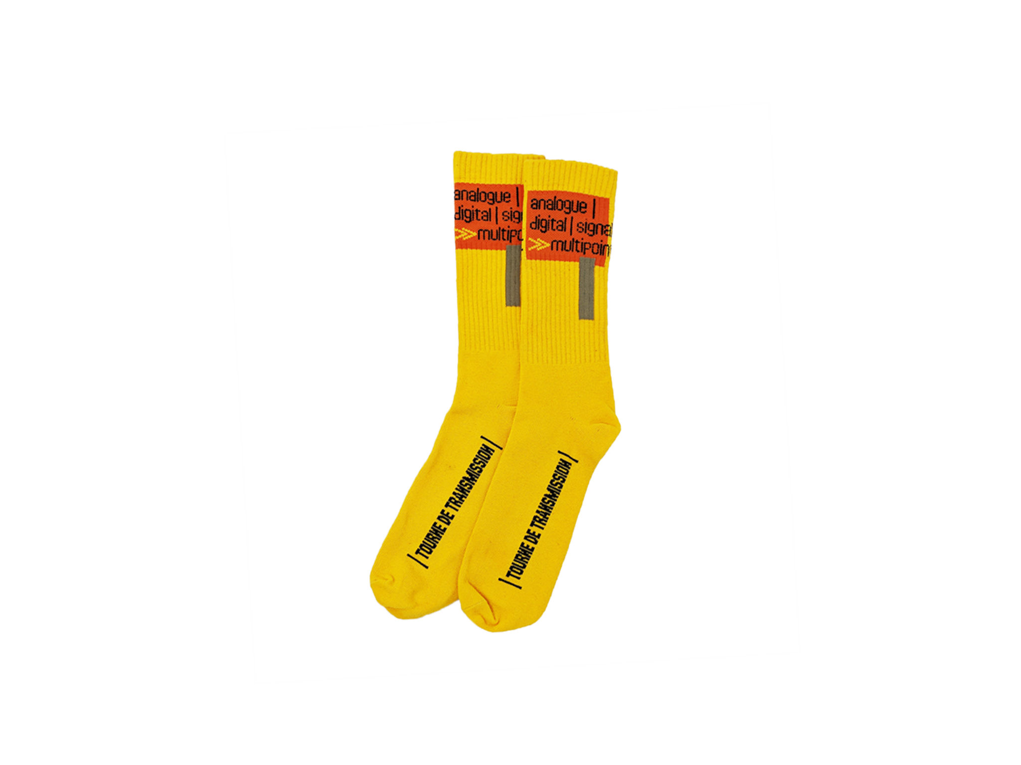 Multipoint Socks - Yellow