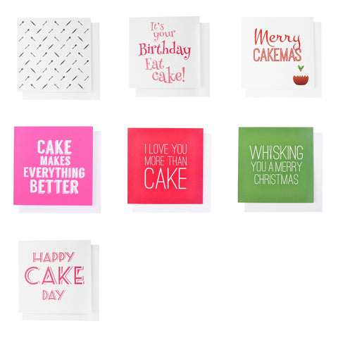 Set of 5 Greeting Cards - Mixed