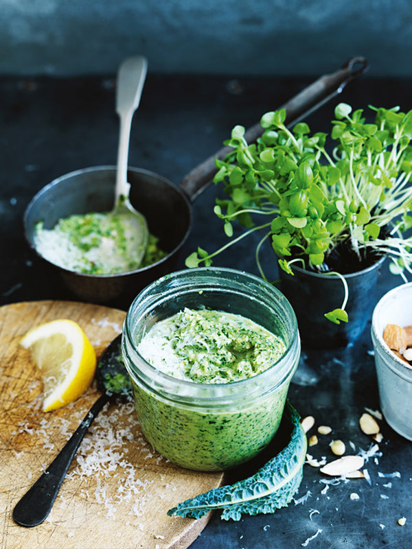 The only pesto recipe you will ever need + a killer couscous salad