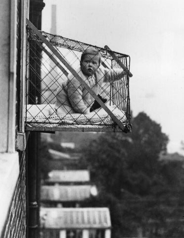 1930s baby cage