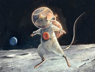 Torben Kuhlmann: Armstrong, The Adventurous Journey of a Mouse to the Moon