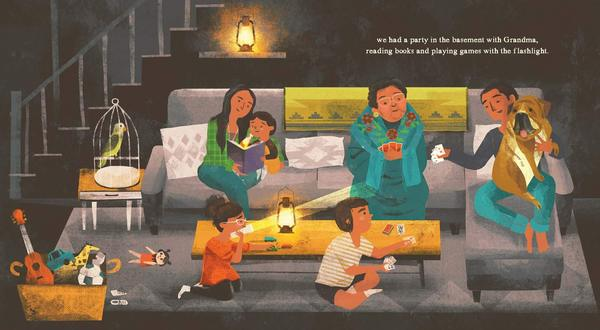 Jane Yolen and Heidi E.Y. Stemple: I Am the Storm, illustrated by Kristen and Kevin Howdeshell