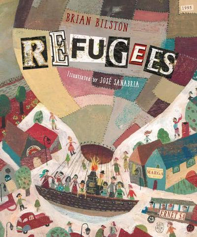 Brian Bilston: Refugees, illustrated by Jose Sanabria