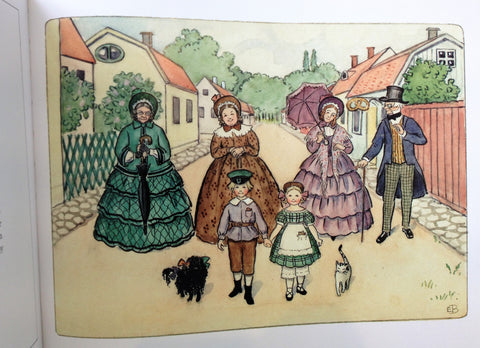 Aunt Green, Aunt Lavender and Aunt Brown by Elsa Beskow