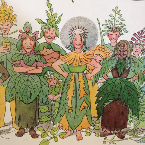 The Flowers Festival by Elsa Beskow