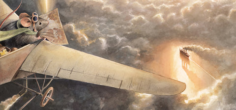 Lindbergh: The Tale of a Flying Mouse by Torben Kuhlmann