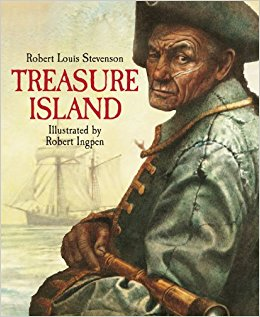 Robert Louis Stevenson: Treasure Island, illustrated by Robert Ingpen