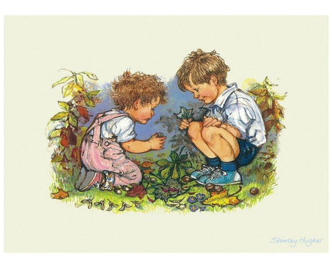 Alfie and Annie Rose print by Shirley Hughes