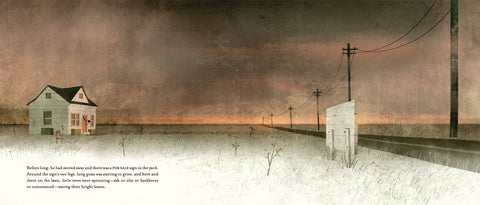 House Held Up By Trees by Ted Kooser, illustrated by Jon Klassen