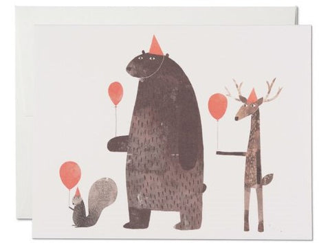 Red Cap cards designed by Jon Klassen