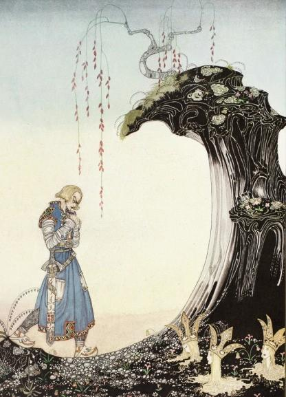 Print: Kay Nielsen - from 'The Princess of Whiteland'