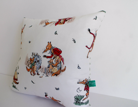 Fantastic Mr. Fox cushion by Murraymaker