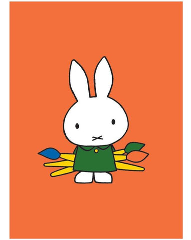 Miffy the artist print