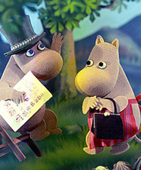Moomins Polish stop motion