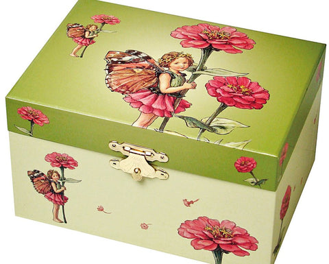 Musical Jewellery Box: The Flower Fairies, The Zinnia Fairy