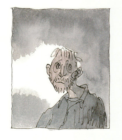 Quentin Blake's illustrations for Michael Rosen's Sad Book