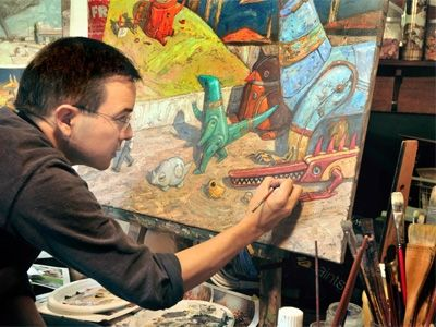 Shaun Tan illustrator