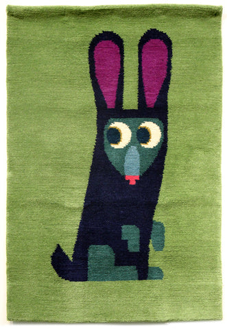 Chris Haughton Rabbit Rug