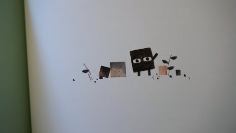 Square by Mac Barnett and Jon Klassen is a meditation on the nature of art