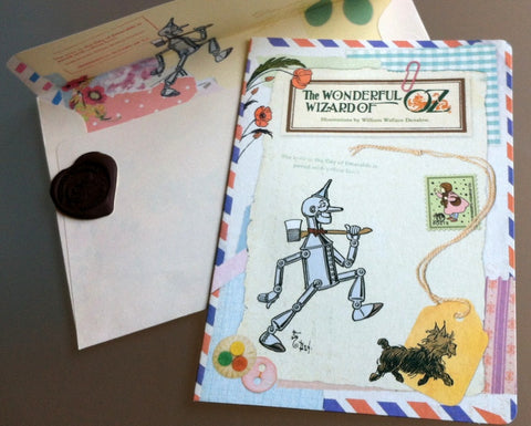Greeting card: The Wonderful Wizard of Oz