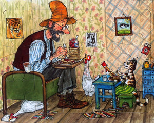 Findus and Pettson Jigsaw by Sven Nordqvist