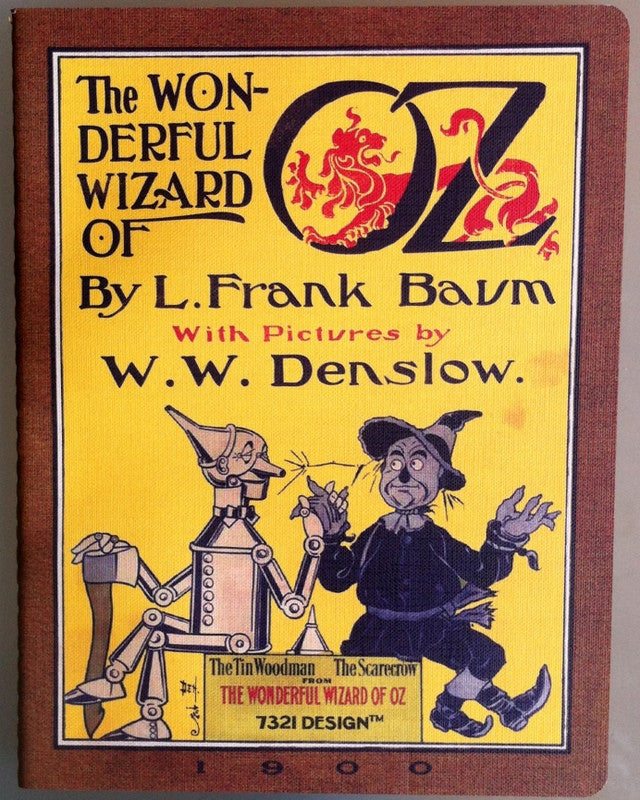 The Wizard of Oz Notebook