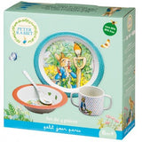 Melamine Eating Set: Peter Rabbit