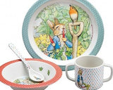 Melamine Eating Set Beatrix Potter