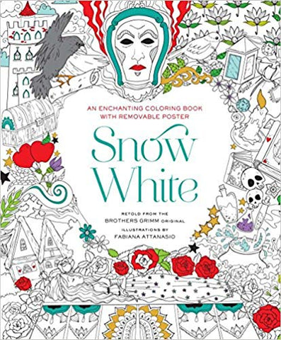 Fabiana Attanasio: Snow White Colouring Book