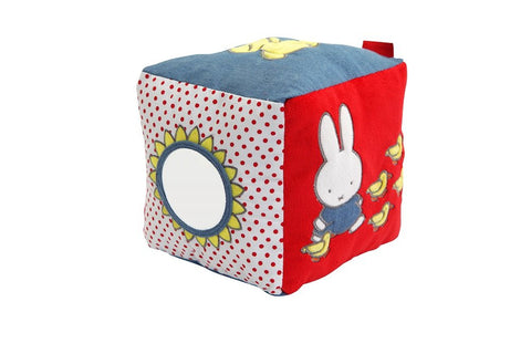 Miffy Denim Activity Cube