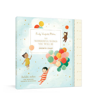 The Wonderful Things You Will Be Growth Chart by Emily Winfield Martin: