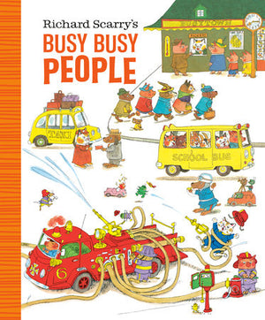 Richard Scarry: Busy, Busy People